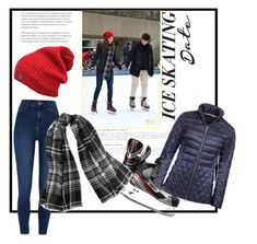 """Ice skating date"" by out-of-styles on Polyvore featuring Mode, Barbour, River Island, Polo Ralph Lauren und iceskatingoutfit"