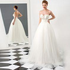 Cheap Ivory Wedding Dresses