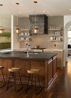 Minneapolis 'modern tudor.' w.b. builders, Edina,...