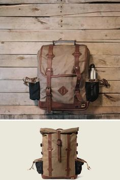 Amazing collection of leather and canvas backpacks. Impressive quality and attention to detail. Made with premium leather or the most durable of canvases, with plenty of room for all your work, sport, or travel products. Fill it with all you need for work or a day's travel. #mensbags #mensfashionrugged #backpacksforgrownups Casual Professional, Canvas Backpacks, Life Styles, Travel Products, Canvases, Bradley Mountain, Men's Style, Fill, Men's Fashion