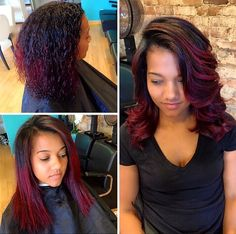 65 Best Flat Iron Hairstyles Images In 2019 Natural Hair