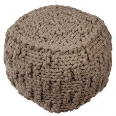 Pouf Écorce de laine - nature et découverte