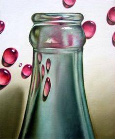 Coke bottle painting