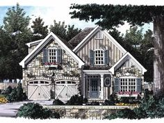 French+Country+House+Plan+with+1867+Square+Feet+and+4+Bedrooms+from+Dream+Home+Source+|+House+Plan+Code+DHSW29061