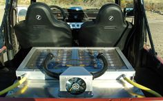 The Battery Pack Of Works Electric Custom Suzuki Samurai