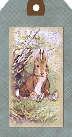 Beatrix Potter Animal Tags