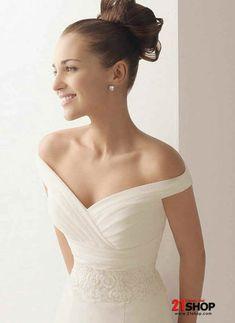 Image result for hug shoulder wedding dress