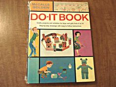 Children's Craft Book DOIT Book Vintage by joesbooksandthings