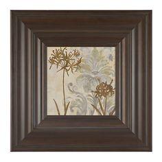 Floral Silhouettes I Framed Art Print | Kirklands