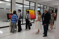 Invitados a la Inaguración de la Exposición Pictórica de la LDG Ana Elva Caballero Rdz. (14703/2014)