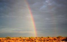 Rainbow near Wild Horse Pass