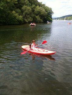 canoe/kayak Canoe And Kayak, Cumbria, Lake District, Kayaking, Summer Time, Outdoors, Outdoor Decor, Life, Kayaks