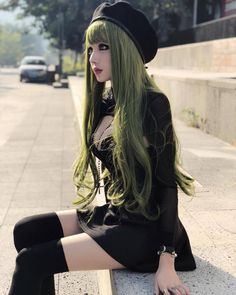 Sexy Goth Beauty ,Kina Shen so lovely! Dark Beauty, Gothic Beauty, Asian Beauty, Kina Shen, Estilo Rock, Gothic Models, Goth Women, Gothic Outfits, Looks Style