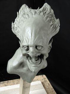 David Meng Art: June 2011 Outdoor Sculpture, Modern Sculpture, Sculpture Art, Oil Based Clay, Fantasy Miniatures, Clay Figures, Creepy, Scary, Creature Design