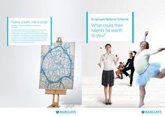 Barclays Recruitment Advertising, Ideas, Design, Design Comics, Thoughts