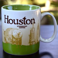 Starbucks City Mug - Houston!!!! I WANNA HAVE DIS ONE! Mine