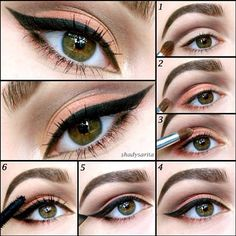 A step by step tutorial by @Sarah P for a daytime look that is fresh and pre