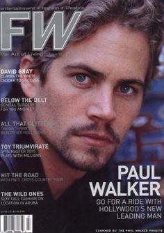 Paul Walker FW Magazine Cover