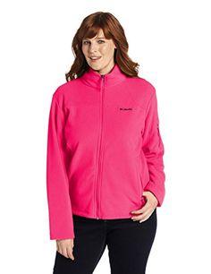 Columbia-Womens-Plus-Size-Fast-Trek-II-Full-Zip-Fleece-Jacket