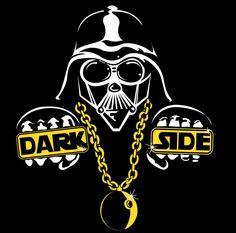 Dark Side Tee - Black