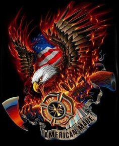 Firefighter Apparel, Firefighter Paramedic, Volunteer Firefighter, Firefighter Tattoos, Firefighter Quotes, American Firefighter, Firefighter Decor, Volunteer Fire Department, Fire Tattoo