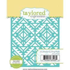 Taylored Expressions SOUTHWEST Cutting Plate Die Set TE593 Preview Image