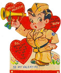 **FREE ViNTaGE DiGiTaL STaMPS**: Free Vintage Downloads - More Retro Valentines