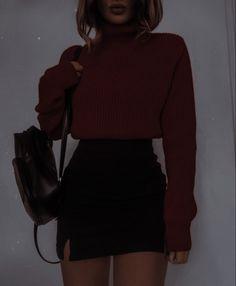 Teen Fashion Outfits, Casual Fall Outfits, Cute Fashion, Trendy Outfits, Cool Outfits, Aesthetic Clothes, Cute Dresses, Ideias Fashion, My Style