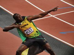 My main man, Usain