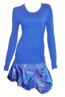 Available in my store. Louis Vuitton Rare Cashmere / Silk Print Sweater Dress Sz L