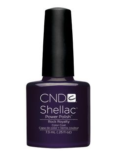 CND Shellac | Rock Royalty -- thinking i want to try this color next time