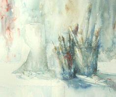 Aquarelle de Janine Gallizia