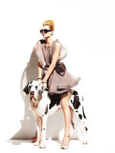 Karolin Wolter for Vogue Portugal