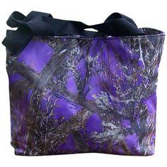 The Rustic Shop - Purple True Timber Camo Tote Bag, $34.99  http://www.therusticshop.com/?store=PrairieRoses