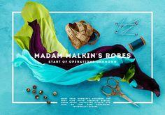 Image via We Heart It #harrypotter #madammalkin'srobes