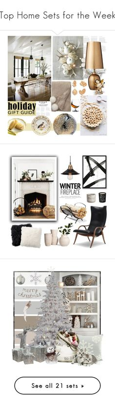 """Top Home Sets for the Week"" by polyvore ❤ liked on Polyvore featuring interior, interiors, interior design, home, home decor, interior decorating, Lene Bjerre, Richard Ginori, Sur La Table and Bella Freud"