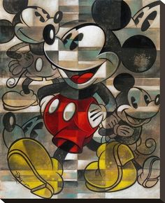Mickey Mouse - Drawing the Mouse by Tim Rogerson presented by World Wide Art Disney Mickey Mouse, Mickey Mouse E Amigos, Arte Do Mickey Mouse, Deco Disney, Mickey Love, Mickey Mouse And Friends, Minnie Mouse, Walt Disney, Mickey Drawing
