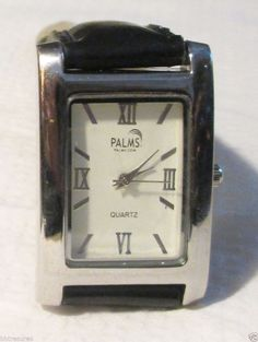 The Palms.com Men's Dress Leather Band Wrist Watch #Chopard #Fashion