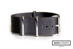 NATO Strap Solid Grey 20mm