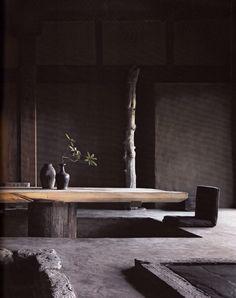 Originally for the Japanese aesthetic wabi-sabi. Explore tags: what is wabi-sabi? Wabi Sabi, Japan Design, Interior Exterior, Interior Architecture, Luxury Interior, Room Interior, Japanese Architecture, Futuristic Architecture, Design Hotel