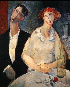 Modigliani - At the Restaurant