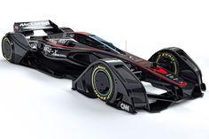 Com a aproximação de 2017, ano em que a Fórmula 1 promete uma reformulação nos regulamentos desportivo e técnico, a McLaren revelou uma proposta futurista de antevisão do que os novos carro