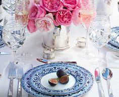 Table Setting by Ralph Lauren https://designsecretsnj.wordpress.com/2015/03/11/spring-flowers-flowers-everywhere/