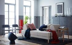 Seduta, letto e chaise-longue: il divano si fa multitasking.