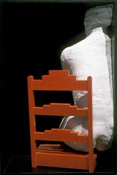 GEORGE SEGAL, GIRL ON A CHAIR, 1970