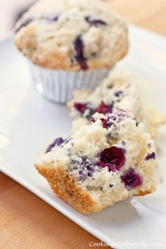 Blueberry Streusel Muffins…and a White Lily Cuisinart Baking Giveaway! from @Kathy Strahs | Panini Happy