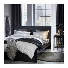 NATTJASMIN Quilt cover and 4 pillowcases, white white 200x200/50x80 cm