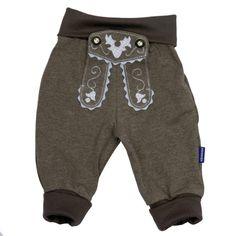 Lederhosenjogger fürs Baby hellblau | Baby & Kind | Geschenkideen | Bavariashop | originelle & typisch bayerische Geschenke
