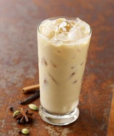 starbucks iced chai tea latte...yum! my coffee tip- ask for light ice and you get more drink!