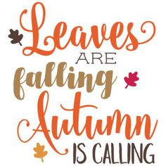 Silhouette Design Store: Autumn Is Calling - Trend Lightworker Quotes 2019